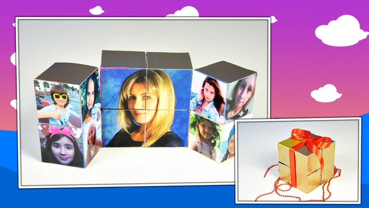 Кубики из фотографий своими руками 2