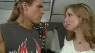 Stephanie McMahon and Shawn Michaels