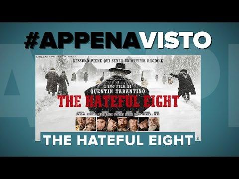 THE HATEFUL EIGHT - l'8vo film di QUENTIN TARANTINO - #APPENAVISTO