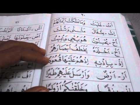 Cara Membaca Buku IQRA 4 (mukasurat 18-21)