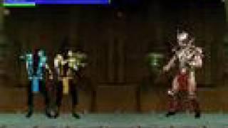 Fatality Ultimate Mk parody