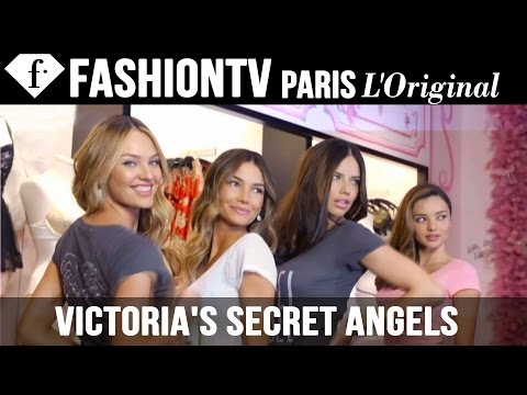 Victoria's Secret Angels Miranda Kerr & Adriana Lima Reveal Their 2012 Holiday Picks | FashionTV