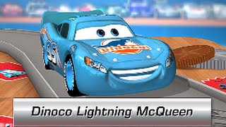 Cars Daredevil Garage - DINOCO LIGHTNING MCQUEEN - Review Gamepley / Walkthrough (iPhone / iPad)