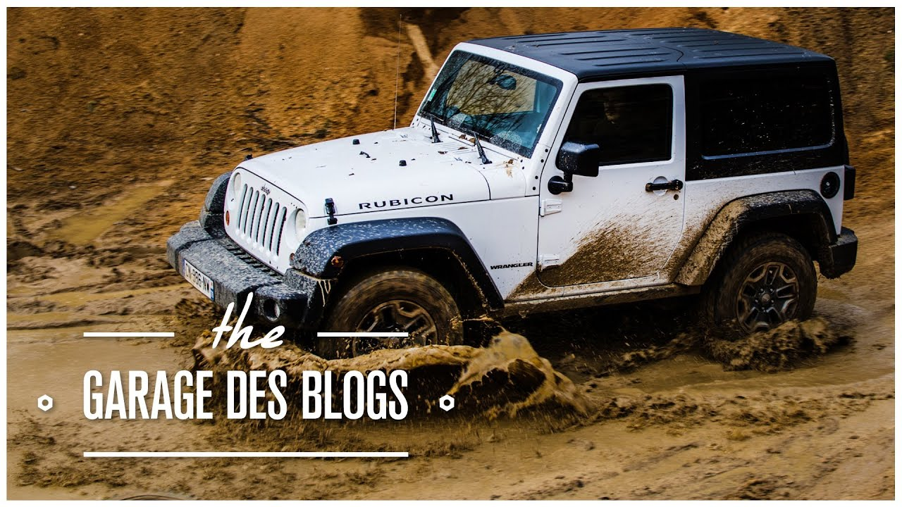Jeep wrangler rubicon 4x4 le garage des blogs youtube for Garage de 4x4