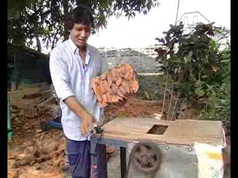 master การทำถาดกล้วยไม้จากกาบมะพร้าว  สมุทรสาคร