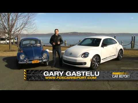 Chris Vallone Classic VW Bugs on Fox News w 2012 Beetle