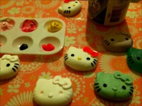 Hello Kitty Paintings How to Paint on Hello Kitty