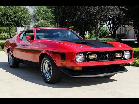 1972 ford mustang mach 1 r code for sale youtube
