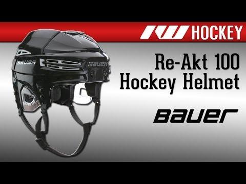 Bauer RE AKT 100 Hockey Helmet Review