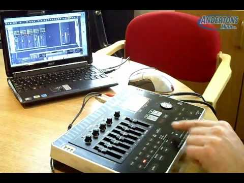 Boss BR-800 Portable Digital Recorder Overview & Demo Part 2