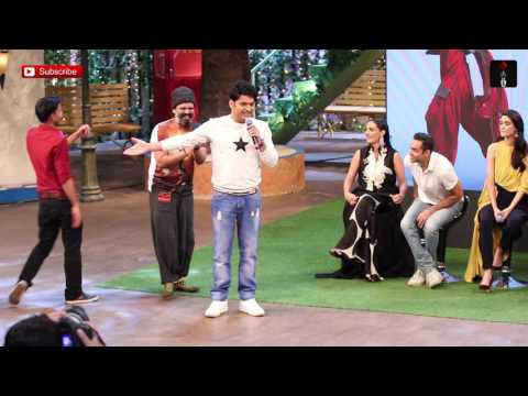 Funny Moments On The Kapil Sharma Show During Happy Bhaag Jayegi Promotion thumbnail