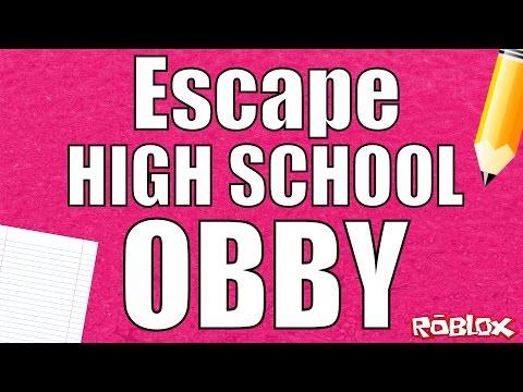 Roblox - Escape High School Obby