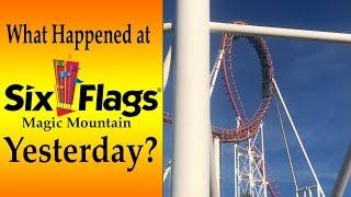 Six Flags Magic Mountain Hits CAPACITY | December 30th 2018