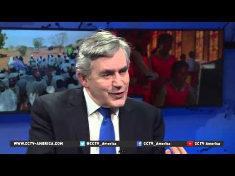 One more question for former British Prime Minister Gordon Brown