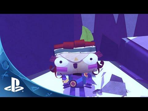 Tearaway Unfolded - Gamescom 2014 Trailer | PS4