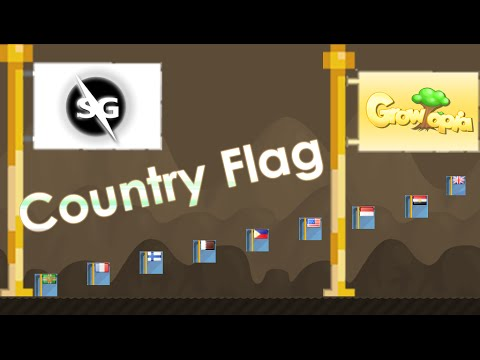 Growtopia Country Flag