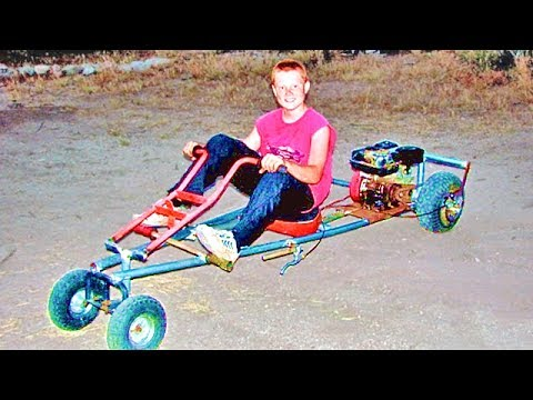 Simple Homemade Go Kart