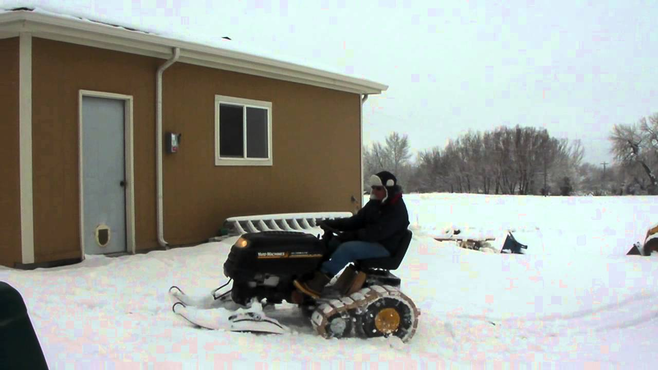 Half Track Garden Tractor YouTube