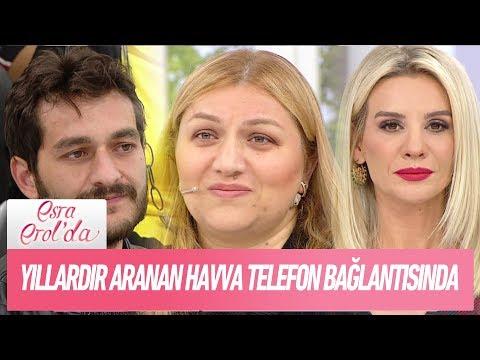 Yıllardır aranan Havva telefon bağlantısında - Esra Erol'da 15 Kasım 2017