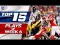 Top 15 Plays of Week 6   NFL Highlights thumbnail