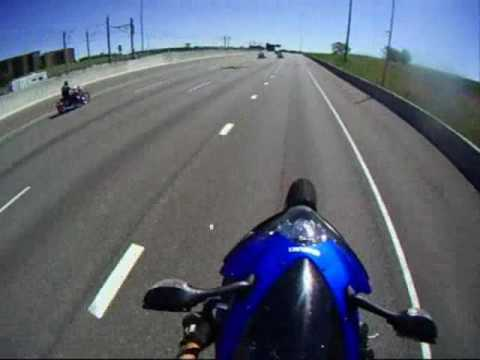 STI GT30R vs GSXR 600 Go Pro w/ no music --- I KNOW IM A SQUID- Thank you