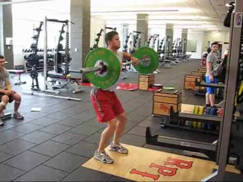 Barbell High Pull Image 1