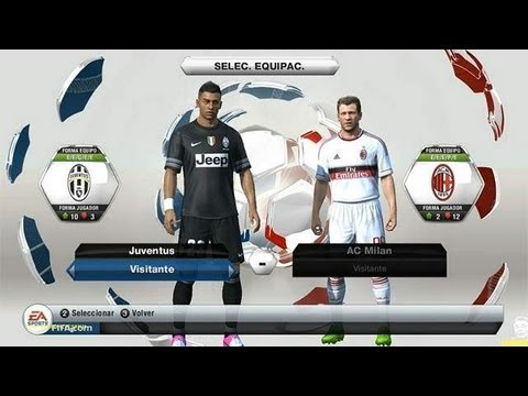 Stats Milan Fifa 13 Fifa 13 Juventus vs ac Milán