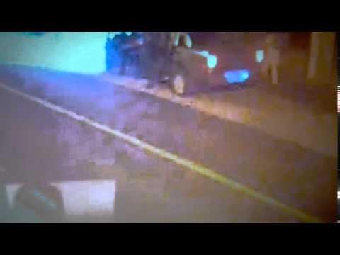 Así fue el tiroteo de la Policía con los prófugos por el triple crimen