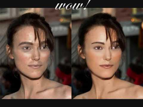 Keira Knightley- the miracle of photoshop