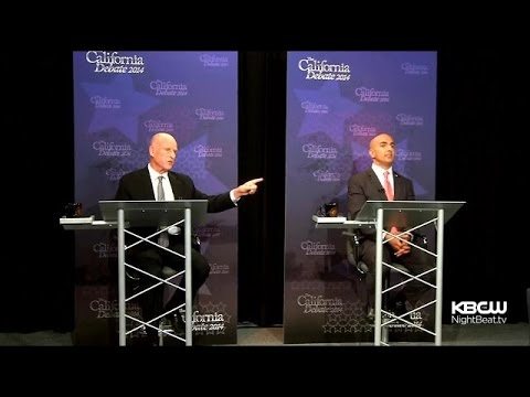 Jerry Brown, Neel Kashkari Clash In Only Scheduled Debate