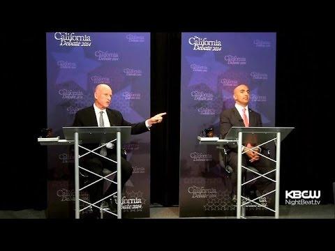 Jerry Brown, Neel Kashkari Clash In Only Scheduled Debate