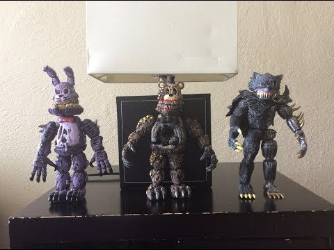 Five Nights at Freddy's: The Twisted Ones juguetes (colección 2)
