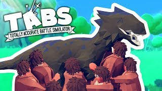 TABS - DINOSAURS HAVE BEEN ADDED!!! - Totally Accurate Battle Simulator Gameplay