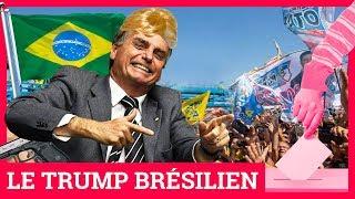 """Présidentielle au Brésil : qui est le """"Trump brésilien"""" ?"""