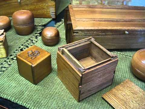 Small Wooden Puzzle Box Plans