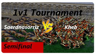 1v1 Tournament [Semifinal] Saerdnasorriz vs Kheb