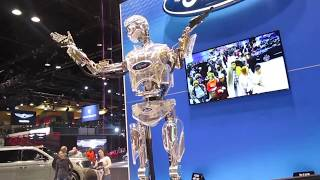 Ford's Hank the Robot Chicago Auto Show 2019 McCormick Place 2-14-19