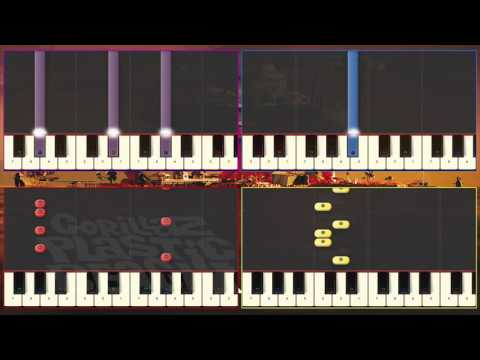 Some Kind of Nature (Gorillaz Cover) & Synthesia Tutorial