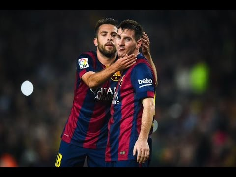 Jordi Alba individual highlights   Barcelona vs Sevilla [5-1]   2014 HD