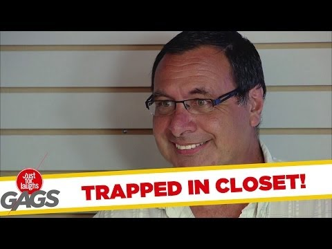 Trapped in the Closet Prank