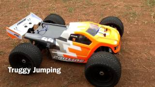 Buggy vs truggy jumping