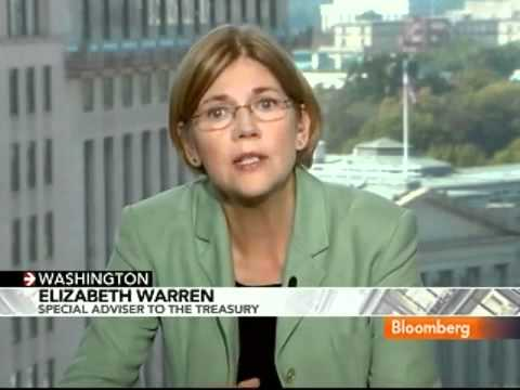 "ELIZABETH WARREN ""THIS IS A VERY BIG PROBLEM"" On FORECLOSURE FRAUD"