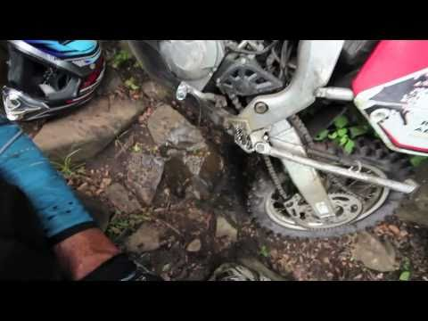 Honda CRF250X - Adam Riemann rides Wild Coast to Lesotho, Africa.