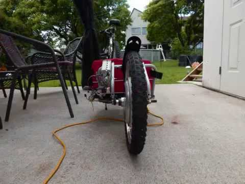 mayacycle Electric Push Trailer