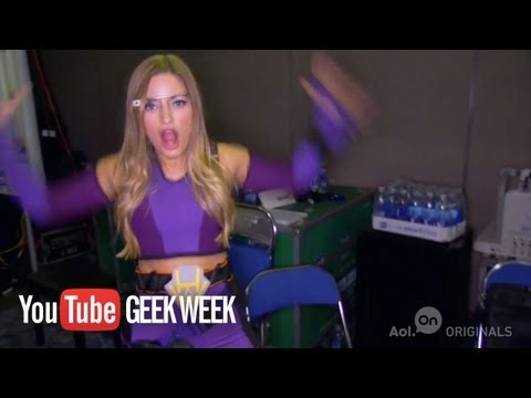 iJustine s Super Hero Costume | Geek Week & Comic-Con 2013