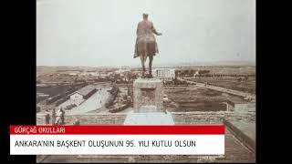Ankara'nın Başkent oluşunun 95. yılı kutlu olsun.