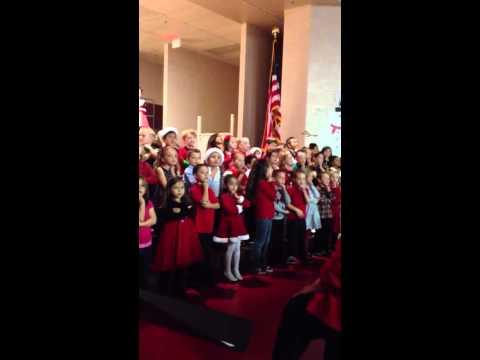 Sonoran Heights elementary school Christmas concert 2012