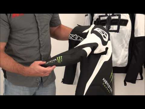 Alpinestars Scream Monster Energy Leather Jacket Review from SportbikeTrackGear.com