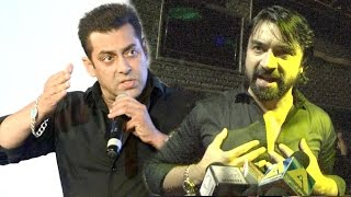 Ajaz Khan's SHOCKING Insult To Salman Khan In PUBLIC For Not Promoting His Movie Love Day