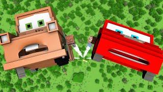 """Disney Pixar's Cars In Minecraft 3"" - Animation"